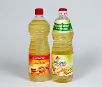 l'huile d'arachide casinocoûte 75centimes de moins que celle delesieur.