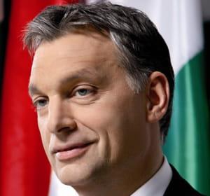 le premier ministre hongrois victor orbàn.