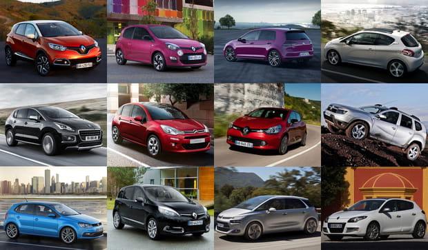 Les voitures les plus vendues en France en 2014