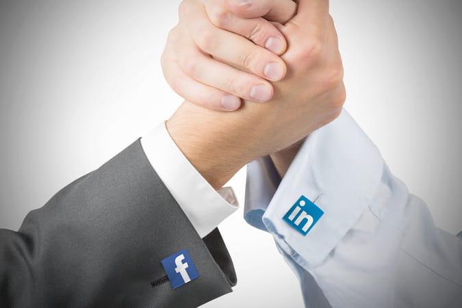 Annonceurs BtoB: découvrez qui remporte le match Facebook vs LinkedIn