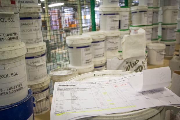 Chaque produit injecté dans la mixture est suivi à la trace