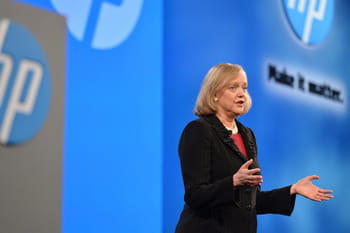 meg whitman a pris les commandes d'hp en 2011.
