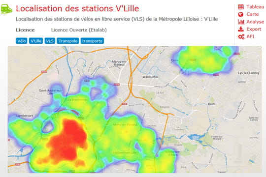 Lille franchit le pas de l'open data