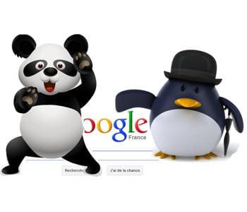 les deux filtres google penguin et panda ont pénalisé de nombreux sites et fait