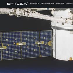 spacex, pour rejoindre la planète mars.