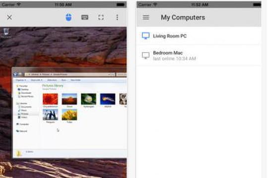 Chrome Remote Desktop arrive sur iOS