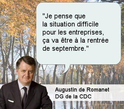 augustin de romanet, directeur général de la cdc.