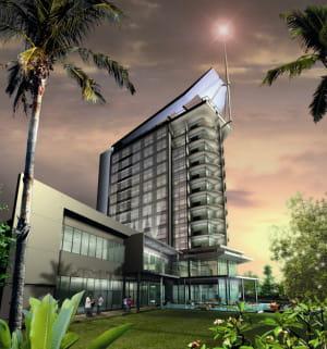 a maputo, au mozambique, l'hôtel radisson blu ouvrira à l'automne 2011 sur la