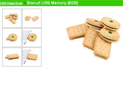 la biscuit usb memory