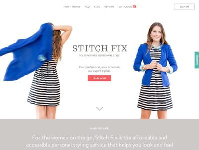 stitch fix combine analyse de données et savoir-faire de ses stylistes pour
