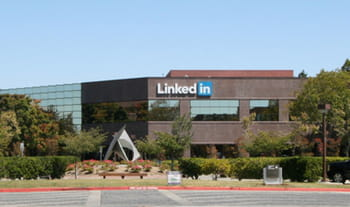le siège de linkedin, à mountain view.