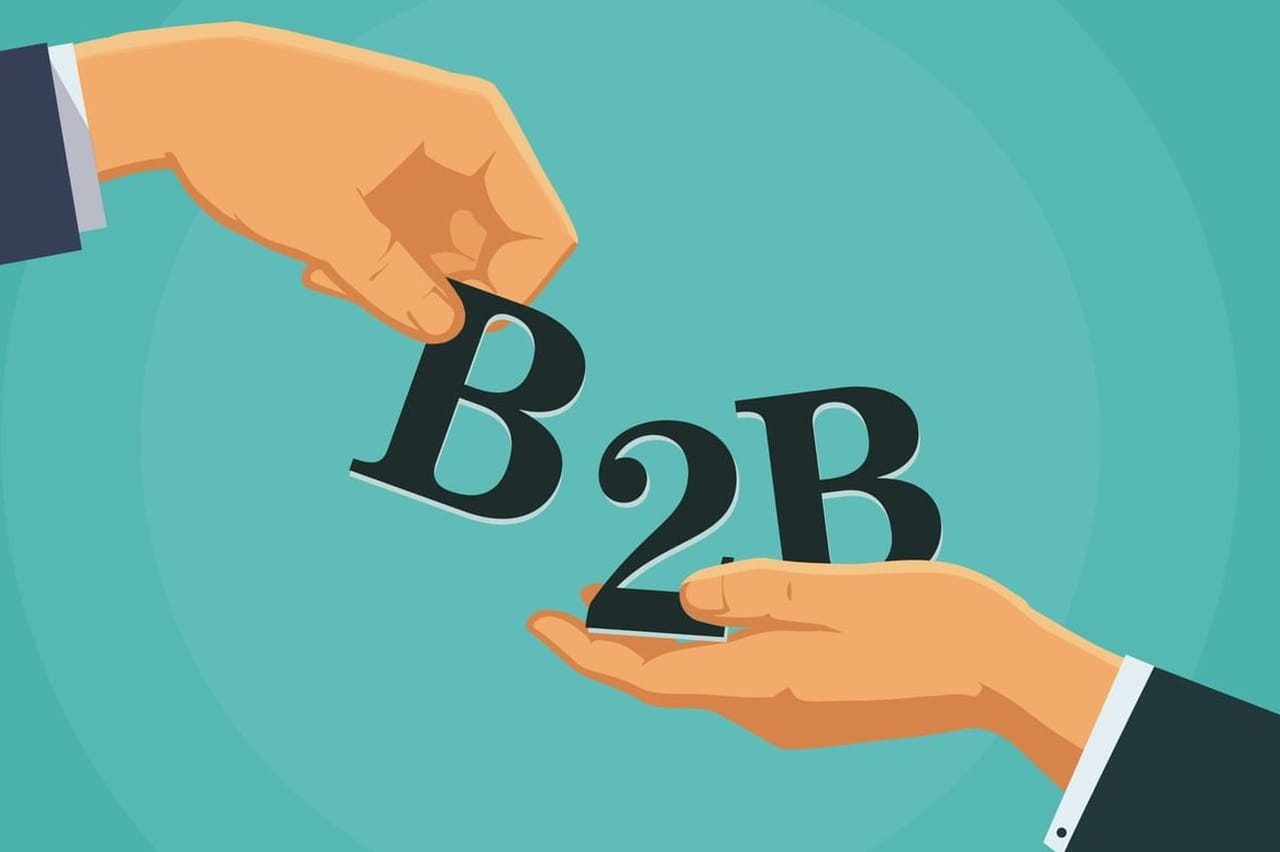 B2b Ou B To B Definition Simple Et Traduction De Business To Business