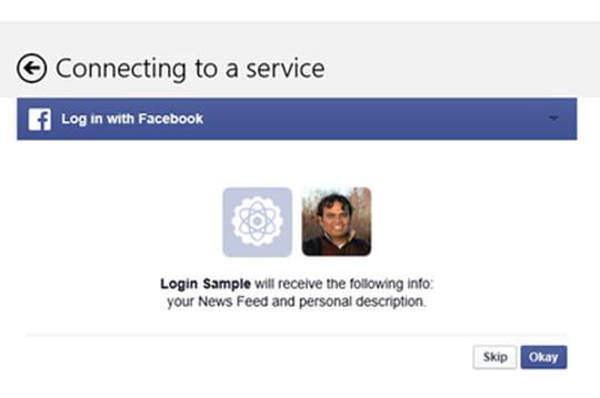 L'identification Facebook arrive dans Windows8.1