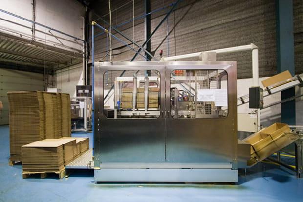 Machine à cartons