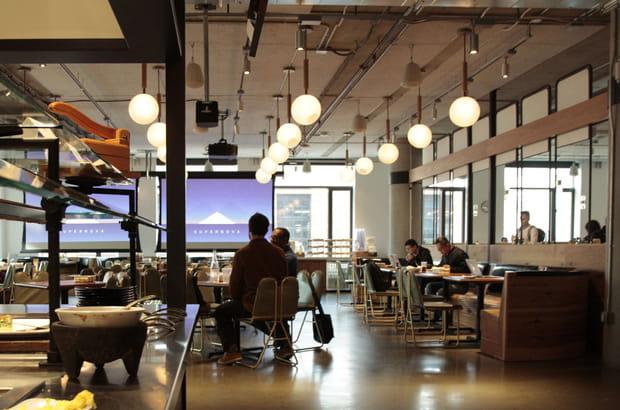 Un restaurant d'entreprise avec un Chef qui a aussi officié chez Apple ou Google