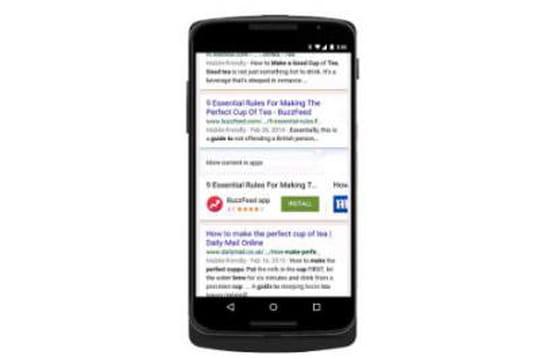 Google va bientôt faire remonter du contenu d'app Android non installées