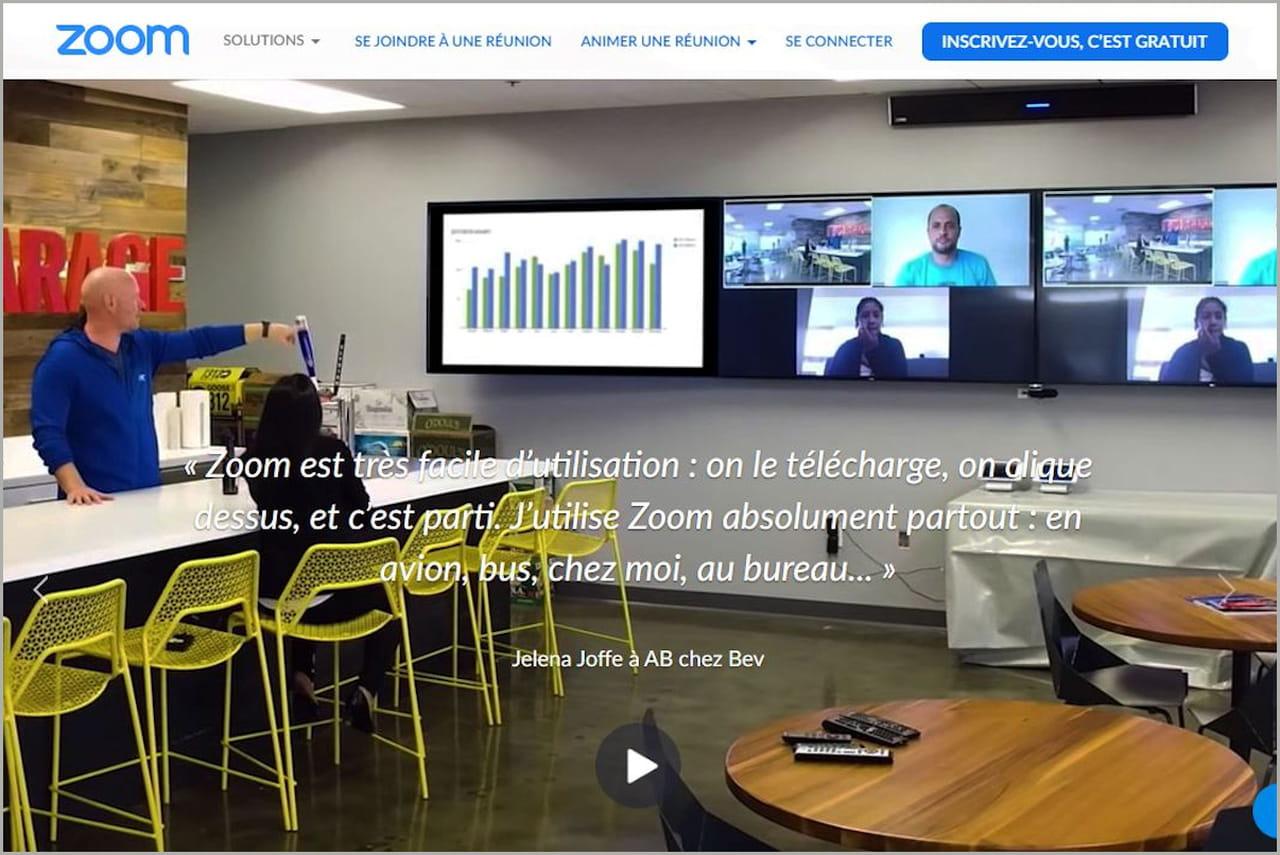 ZOOM n'envoie plus vos données à Facebook dans sa nouvelle version iOS