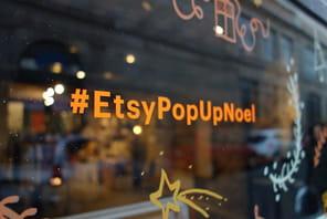 La boutique éphémère d'Etsy à Paris, une ruche de 70 créateurs