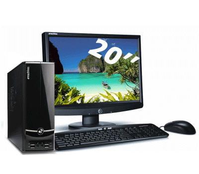 un pc de bureau et son écran sous la barre des 300 euros