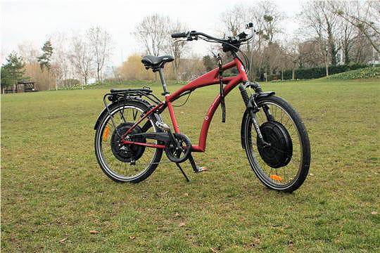 Tidal Force: le vélo haute performance