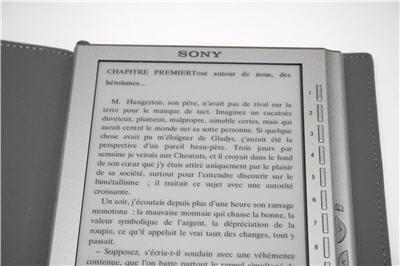 l'écran donne l'effet d'une impression papier.