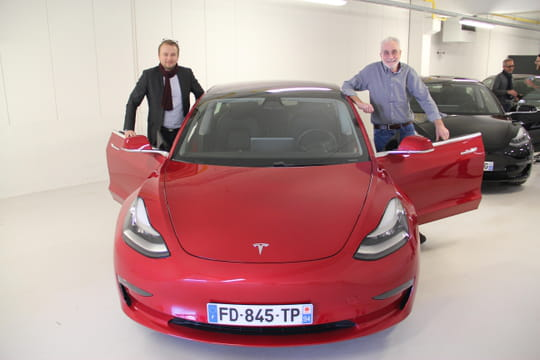 tesla model 3 les premi res livraisons arrivent en france. Black Bedroom Furniture Sets. Home Design Ideas