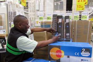 les salariés utilisent l'application métier scanref sur leur propre téléphone,