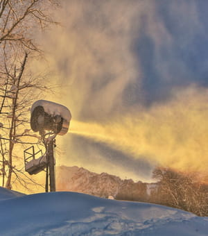 400canons à neige devront compenser l'éventuel manque de neige sur les pistes
