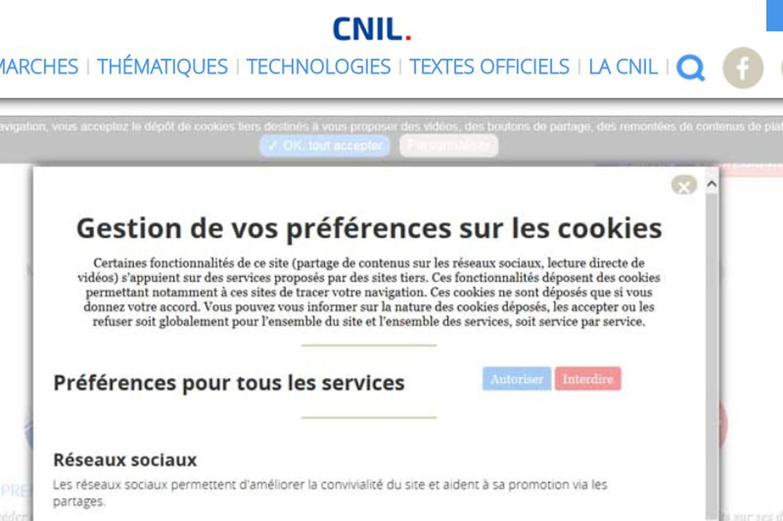 A quelle sauce la Cnil va-t-elle manger les cookies?