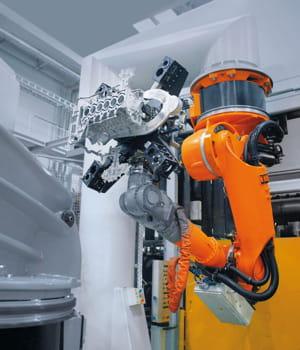 kuka roboter affiche un chiffre d'affaires de 616,3 millions d'euros en 2011.