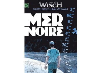 'mer noire', largo winch t.17, francq / van hamme, 10,95 euros.