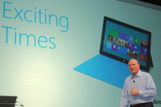 Microsoft offre une tablette Windows 8 à tous ses employés