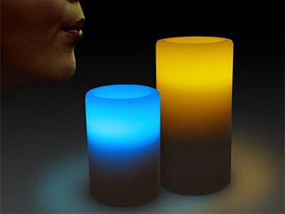 des bougies pour créer des moments d'intimité à deux.