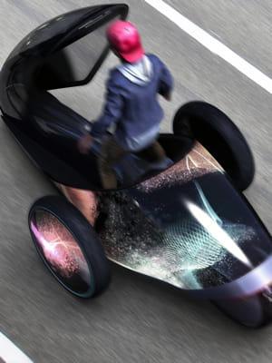dévoilé à tokyo en2013, le concept car fv2 développé par le japonais toyota n'a