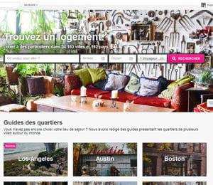airbnb se rémunère via une commission de 6% à 12% sur les transactions