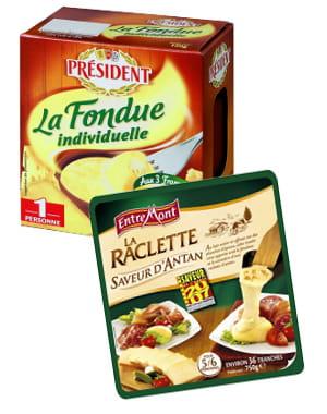 la fondue et la raclette se sont largement développées, avec des versions