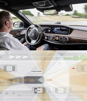 les voitures deviendront entièrement autonomes, capables d'éviter les obstacles