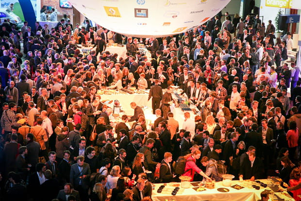 LeWeb Paris 2012 : buffet