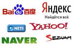 les logos des concurrents de google