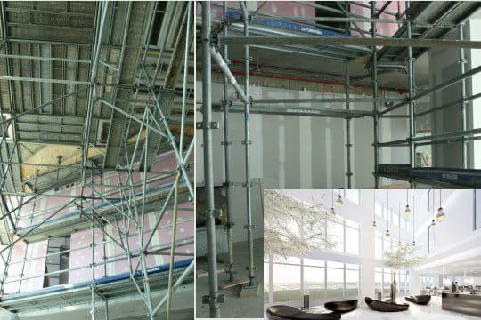 Atrium intérieur
