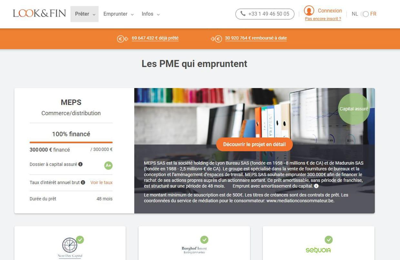Look&Fin lève 6 millions d'euros pour financer les PME européennes