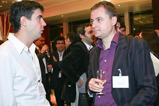 Olivier Aizac et Antoine Jouteau