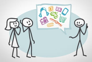 Cinq services français de social shopping