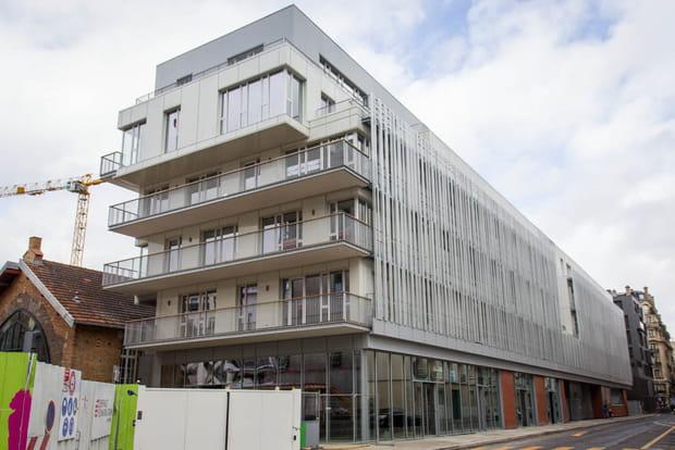 Façace incubateur-hôtel d'entreprise Paris innovation Boucicaut