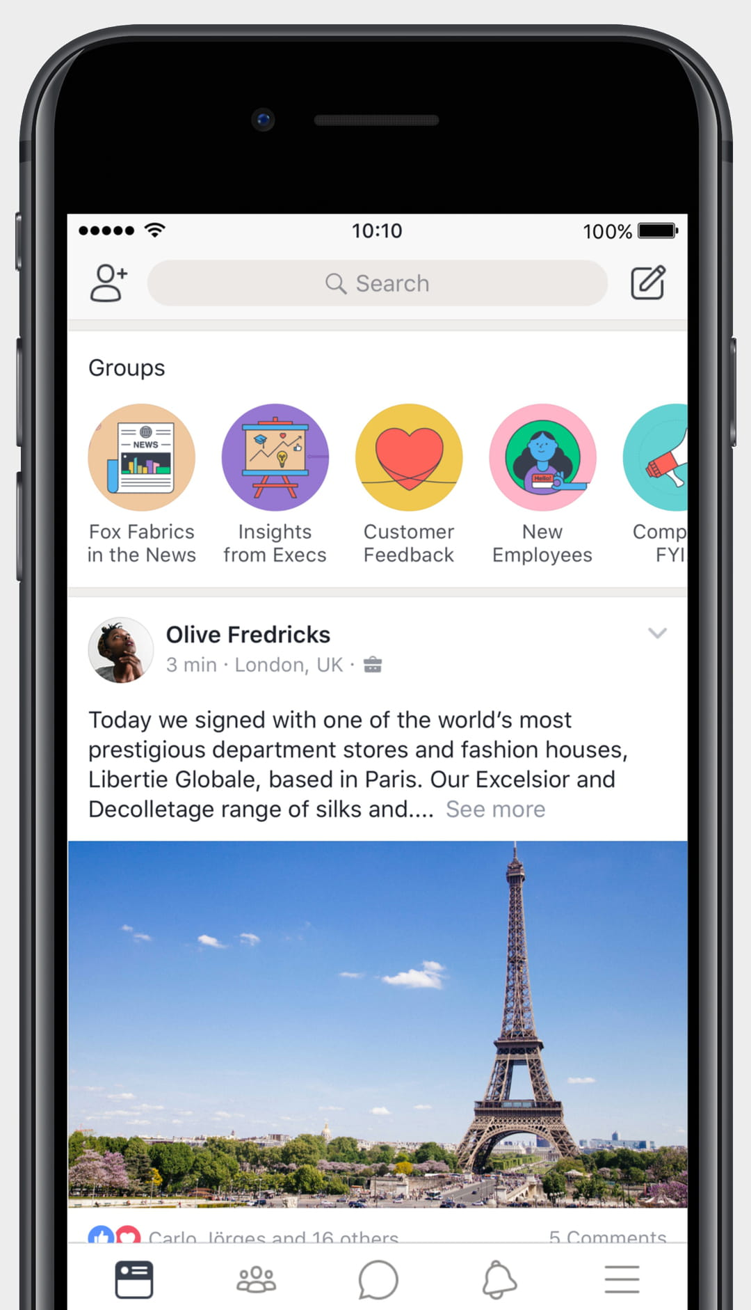 "Workplace by Facebook se transforme en portail collaboratif ""2.0"""