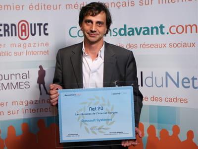 arnaud ribadeau dumas, vice-président r&d - 3dvia - chez dassault systèmes.