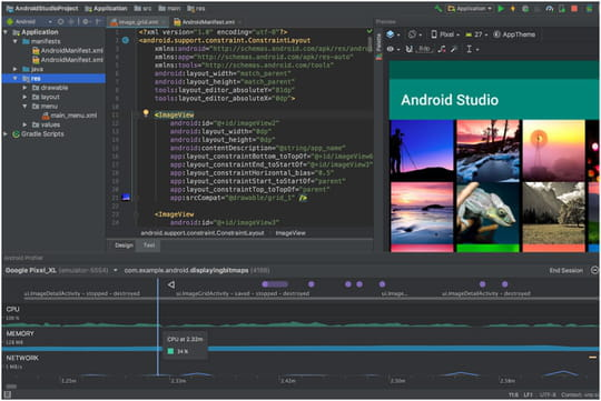 Ouvrir Android Device Monitor dans Android Studio 3 (et versions plus récentes)