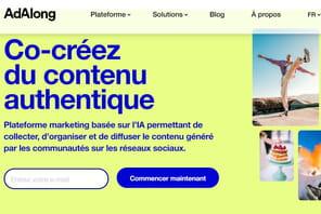 AdAlong met les contenus UGC au cœur des campagnes de marques