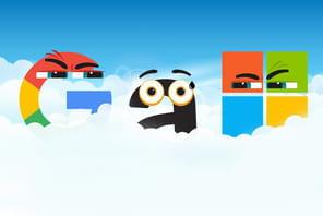 Amazon, Google et Microsoft engagent laguerre des clouds hybrides