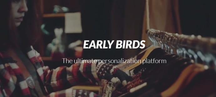 Info JDN: Early Birds lève5millions d'euros pour personnaliser l'e-commerce